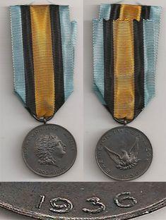 GREECE - Makedonian Medal 1936; 180E