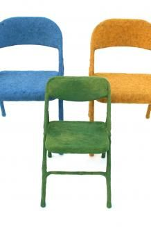 (felted chairs) Felt Identities | The Common