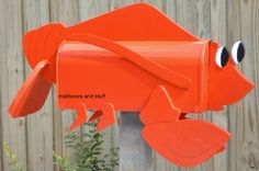 Adorable LOBSTER Mailbox