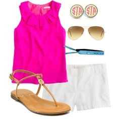 really cute beach outfit