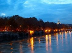 Along the Tevere by night, Spring 2013: Palazzo