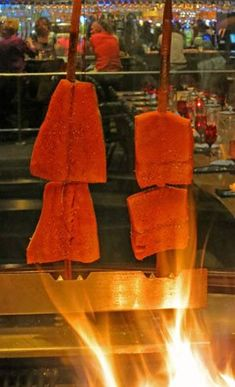 Salmon on a Stick at Blackfish - Chefs Resources