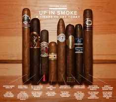 8 Great Cigars to Try