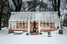 a scandinavian style dinner in a greenhouse | coco kelley