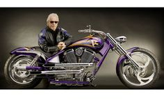"""One of the most revered names in the custom bikes industry, Arlen Ness will be honored by the Petersen Auto Museum in Los Angeles. A summer-long exhibit called """"Arlen Ness, Art on Two Wheels"""" will open on July 13 and will run through September Hd Motorcycles, Victory Motorcycles, American Motorcycles, Chopper Parts, Chopper Bike, Custom Choppers, Custom Bikes, Harley Knucklehead, Harley Davidson Pictures"""