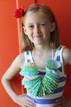 With our Hawaiian birthday party a big hit this last weekend, I'm sharing a few of the fun things we did to celebrate. Each of the guests got to make their own Hawaiian leis to wear during the party. Using cupcake liners made it easy to prep and fun to make. Supplies for Cupcake Liner …