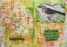 """Neon Diary: """"...possibilities are endless"""" - Art Journal"""