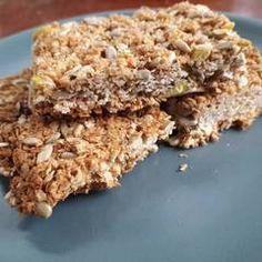 Σπιτικές μπάρες δημητριακών (granola) συνταγή από marilouthegreat - Cookpad Krispie Treats, Rice Krispies, Granola, Vegan, Desserts, Food, Tailgate Desserts, Deserts, Essen
