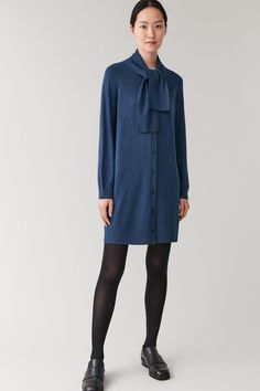 Shop jumpers and cardigans from the women's knitwear collection at COS; Dress With Cardigan, Cardigan Fashion, Dandy, Jumpers For Women, Coats For Women, Cashmere Jumper, Punk, Casual Outfits, Fashion Outfits