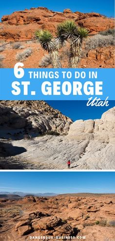 The best things to do, see, and eat in St. George, Utah for a first-time visitor. The best hiking, nature and the best places to eat in this desert wonderland. St. George is such a fun & beautiful destination in Southern Utah. Surrounded by red rocks & National Parks it is ideal for photography. So you will want to bring your camera! #utah #usatravel #adventuretravel Life Is An Adventure, Adventure Travel, Zion National Park, National Parks, Travel Advice, Travel Guide, Snow Canyon State Park, St George Utah, Romantic Weekend Getaways