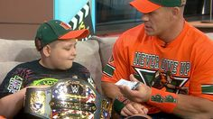 Watch John Cena bring laughs, heartwarming tears to TODAY