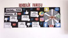 Bilinçli internet kullanımı pano #bilinçliinternet #pano #rehberlik #psikolojikdanışmanlık #internet