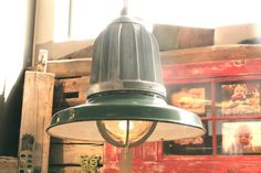 Vintage Industrial Lights from Warehouse by AdaptationShop on Etsy, $350.00