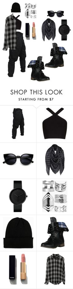 """age ain't nothing but a numba...😎"" by blessedcoco ❤ liked on Polyvore featuring BCBGMAXAZRIA, Louis Vuitton, Boohoo, NLY Accessories and Chanel"