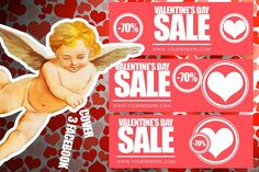 #ValentinesDay #SocialMedia Pack by Flotas Media Market on @creativemarket