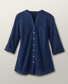 Coldwater Creek smock-type blouse