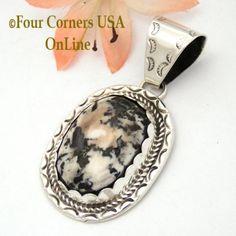 Four Corners USA Online - White Buffalo Turquoise Pendant Navajo Artisan Ida McCray NAP-1652, $99.00 (http://stores.fourcornersusaonline.com/white-buffalo-turquoise-pendant-navajo-artisan-ida-mccray-nap-1652/)
