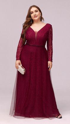 Plus Size Gowns, Plus Size Maxi, Cute Dress Outfits, Cute Dresses, Tulle Lace, Lace Dress, Modest Dresses, Prom Dresses, Maternity Shirt Dress