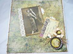 Karte Silberhochzeit/goldene Hochzeit Nostalgie 2 von Marion Beech! handmade with love auf DaWanda.com