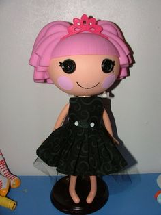 Links to patterns for Lalaloopsy clothes, etc.