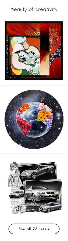 """Beauty of creativity"" by lolla-cher ❤ liked on Polyvore featuring art, contestentry, picasso, createatemplate, Spyder, Gareth Pugh, Giuseppe Zanotti, Oscar de la Renta, Monica Vinader and Bella Freud"