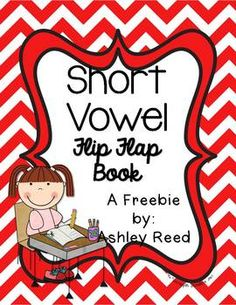 Short Vowel Flip-Flap Book {FREEBIE!}