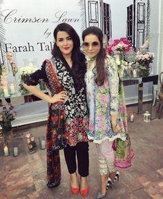 Pakistani lawn outfits by Crimson. Pakistani Casual Wear, Pakistani Outfits, Indian Outfits, Pakistani Clothing, Pakistani Couture, Pakistani Girl, Beautiful Pakistani Dresses, Indian Dresses, Stylish Dresses