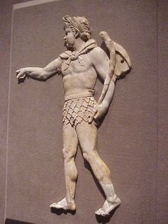 Ivory Applique of Satyr Greek 2nd century BCE | Flickr - Photo Sharing!