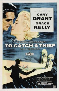 To Catch a Thief  1955 Love that blue dress& scarf Grace is weariing...she always looks so classy no doubt! Kk