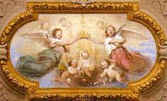 Gesù Bambino Incoronato dagli Angeli (Luigi Samoggia)-Chiesa del Santissimo Salvatore -Bologna