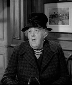 Margaret Rutherford - What a wonderful actress Absolutely LOVE Margaret Rutherford :o) Was a wonderful Miss Marple! British Actresses, British Actors, Actors & Actresses, Classic Movie Stars, Classic Movies, Agatha Christie's Marple, Margaret Rutherford, Small Movie, Role Player