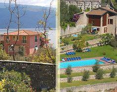 Hotel 3 stelle a Gargnano con piscina e meravigliosa vista lago. Puoi scegliere anche il Residence con gli appartamenti vacanza