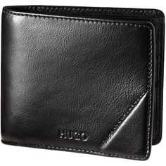 Leather Billfold Wallet (160 AUD) ❤ liked on Polyvore featuring men's fashion, men's bags, men's wallets and mens leather wallet