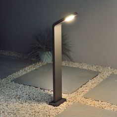 Insika Bollard Light - Graphite - Warm White LED  http://www.justleds.co.za