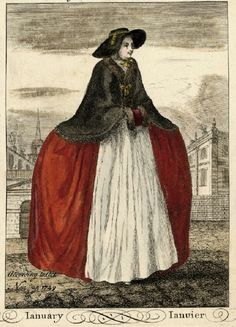 1749 January print John June (Print made by) D Voisin London