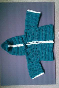 Baby Hoodie  Size 18 - 24 mos by LittleLuvCrochet on Etsy
