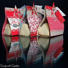 Scrap with Sandra: Biscotti e confezioni per Natale