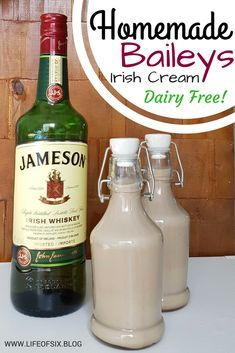 Homemade Baileys Irish Cream - Dairy Free & Vegan | Perfect Holiday Drink | Great Christmas Gift