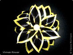 Украшение Цумами Канзаши Пробные цветочки Ленты фото 3