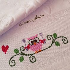 This Pin was discovered by Zey Baby Embroidery, Embroidery Stitches, Cross Stitch Bookmarks, Cross Stitch Patterns, Happy Evening, Baby Bike, Free To Use Images, Cross Stitch Kitchen, Bargello