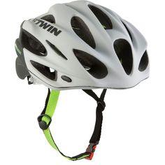 CICLISMO - Protecciones Ciclismo - CASCO BICICLETA 700  BLANCO B'TWIN - Ropa, cascos y complementos de ciclismo