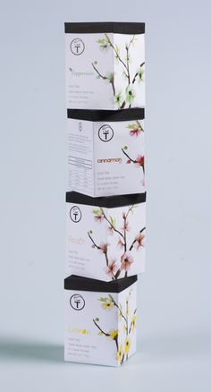 T leaf Tea packaging redesign on Behance