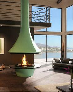 フードタイプ暖炉「エバ 992 センターモデル」