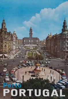 DP Vintage Posters - Original Portugal Travel Poster Porto Portugal