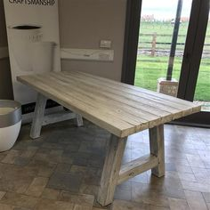 ACHICA | Foremost Natural Terrafab Dining Table, White