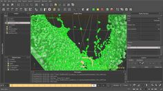 Generating meshes around RealFlow particles