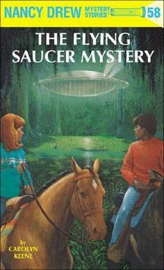 The+Flying+Saucer+Mystery+(Nancy+Drew+Series+ Want to read. Nancy Drew Series, Nancy Drew Books, Nancy Drew Mystery Stories, Mystery Books, Mystery Series, Best Mysteries, Cozy Mysteries, Good Books, Books To Read