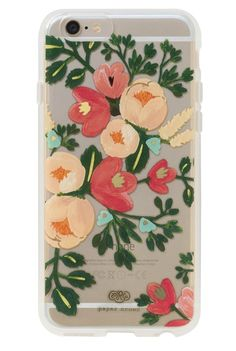 We love the way this illustrated clear case looks like a wearable painting for your phone.