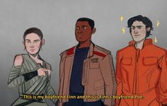'The Force Awakens' is actually a love story between these two men