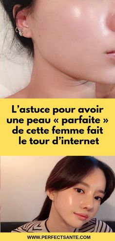 "The trick to have a ""perfect"" skin of this woman is .- L'astuce pour avoir une peau « parfaite Beauty Care, Diy Beauty, Beauty Hacks, Beauty Tips For Face, Natural Beauty Tips, Rave Makeup, How To Grow Eyebrows, Smoker Cooking, Skin Tag Removal"